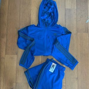adidas Performance climacool track suit